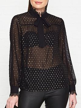 ted-baker-riiaa-joyous-lace-trim-blouse-black