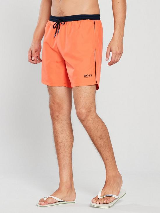 d571e89d5 BOSS Starfish Swim Shorts - Orange | very.co.uk