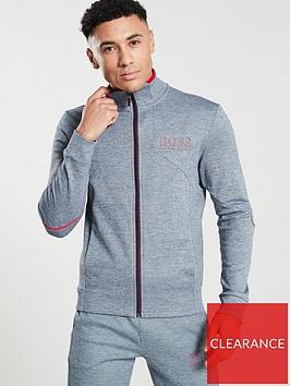 boss-zip-through-track-top-grey-marl