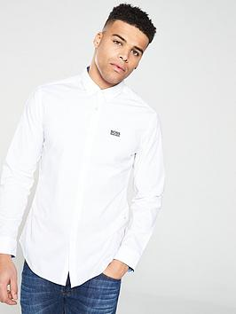 boss-long-sleeve-shirt-white