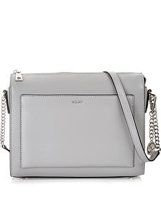 dkny-bryant-park-sutton-medium-cross-body-box-bag-grey