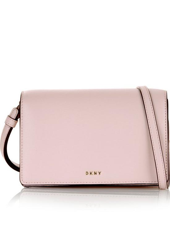 14817c3a9 DKNY Bryant Small Flap Sutton Cross-Body Bag - Pink | very.co.uk