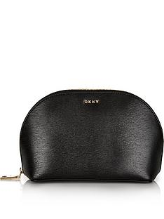 dkny-bryant-large-cosmetic-bag-black