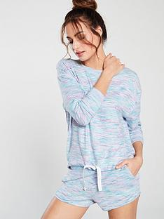 V by Very Space Dye Top and Short Pyjama Set - Multi 8fc1c8af0
