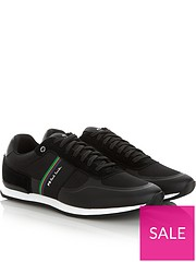 finest selection 67f62 ae26d PS PAUL SMITH Men s Ericson Runner Trainers - Black
