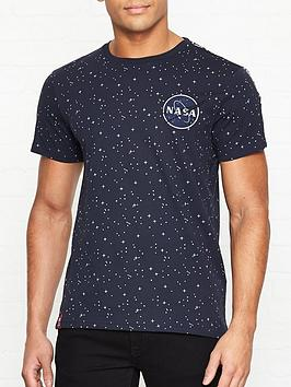 alpha-industries-nasa-tape-t-shirt-navy
