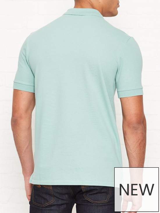 PS PAUL SMITH Zebra Logo Pique Polo Shirt - Mint  0686ef1f92ca