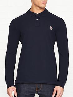 ps-paul-smith-zebra-logo-long-sleeve-pique-polo-shirt-navy
