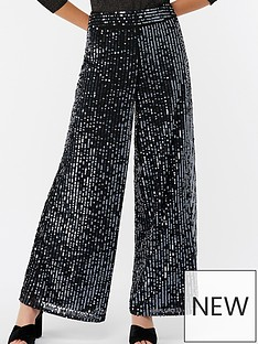 monsoon-selma-sequin-trousers-silver