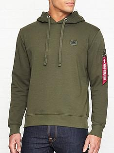 alpha-industries-x-fit-overhead-hoodie-khaki