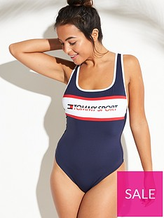 tommy-hilfiger-tommy-sport-cheeky-one-piece-navy