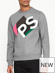 ps-paul-smith-3d-logo-print-sweatshirt-grey