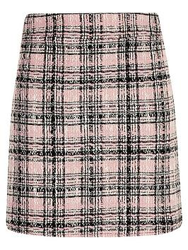 river-island-girlsnbspboucle-skirt-pink