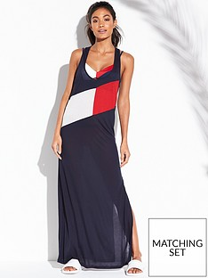 tommy-hilfiger-x-merch-tank-dress-navy
