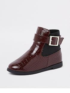 river-island-mini-berry-croc-patent-flat-boots-berry