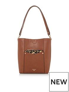 dune-london-duckty-medium-bucket-leopard-print-bag-brown
