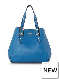 dune-london-dinidakes-small-buckle-detail-grab-bag-blue