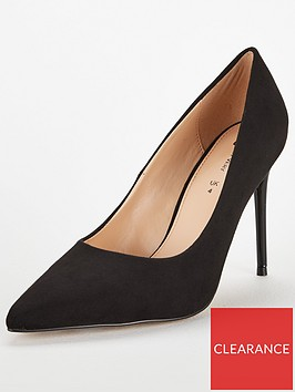 v-by-very-chick-high-heel-point-court-shoe