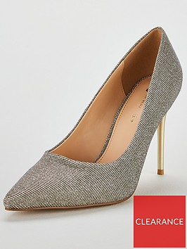v-by-very-chick-high-heel-point-court-shoe-metallic