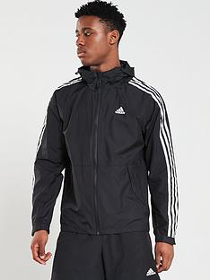 huge selection of 23b54 4cce2 adidas 3 Stripe Windbreaker - Black
