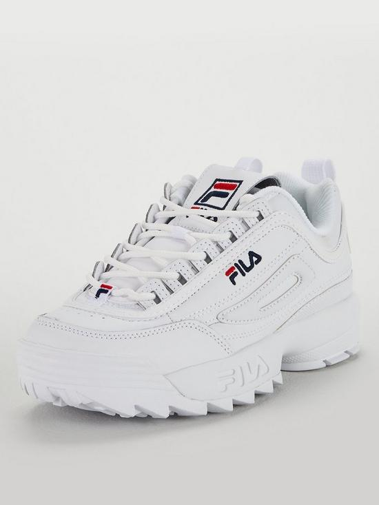 01da94194336 Fila Disruptor II - White