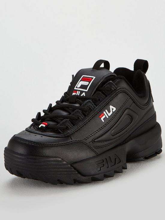 3f5516ee018 Fila Disruptor II - Black | very.co.uk