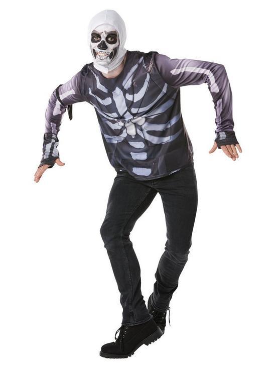 cbcffcc4c8 Fortnite Tween Skull Trooper Top & Snood | very.co.uk