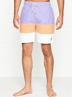 penfield-sullivannbspcolour-block-swim-shorts-purple