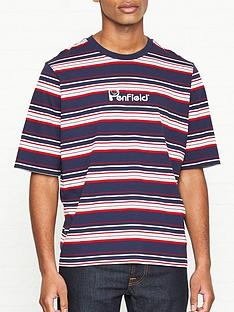 penfield-guano-stripe-t-shirt-navy