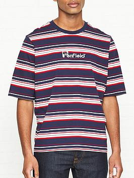 penfield-guano-stripe-t-shirt-navy