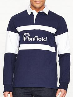penfield-cass-logo-rugby-top-navy