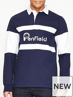 penfield-cass-logo-rugby-top-navy