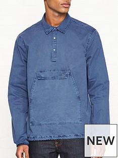 penfield-adelanto-overhead-overshirt-blue