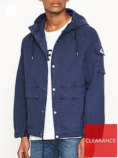penfield-lenox-canvas-hooded-jacket-navy