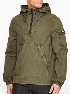 penfield-hartley-hooded-overhead-jacket-olive