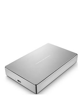 lacie-5tbnbspporsche-design-usb-c-usb-30-portablenbspdrivenbspwith-optional-2-year-data-recovery-plannbsp