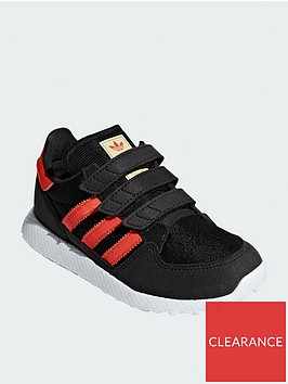 adidas-originals-forest-grovenbspchildrens-trainers-blackorange