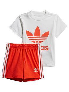 2462a66329c adidas Originals Adidas Originals Baby Boys Short & Tee Set