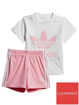 adidas-originals-adidas-originals-baby-girls-short-tee-set