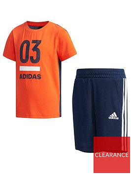 adidas-boys-shorts-tee-set