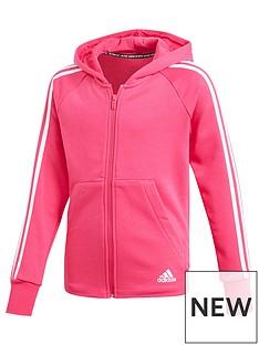 adidas-girls-3-stripe-full-zip-hoodienbsp-nbspmagenta