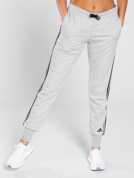 adidas-3-stripe-cuffed-pant-light-grey-heathernbsp