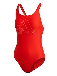 adidas-badge-of-sport-swimsuit-rednbsp