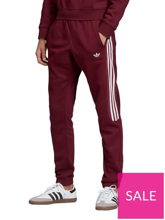 76a80a26695 adidas Originals Radkin Sweat Pant - Burgundy | very.co.uk