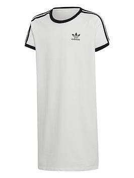 adidas-originals-girls-trefoil-dress-white