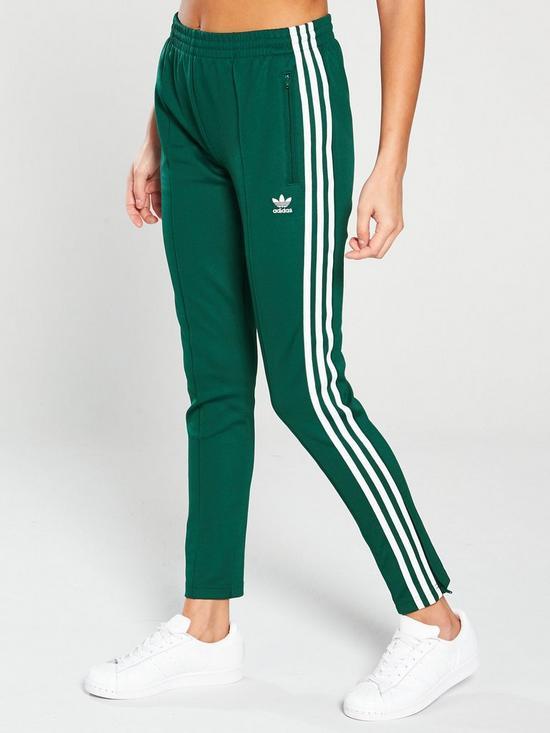3aa1333f6 adidas Originals Superstar Track Pant - Green | very.co.uk