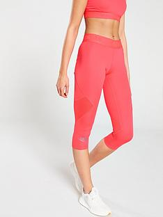 adidas-alphaskinnbspsport-34-tights-rednbsp