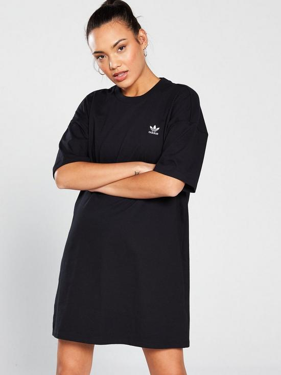 2c9a9c94 adidas Originals Trefoil Dress - Black | very.co.uk