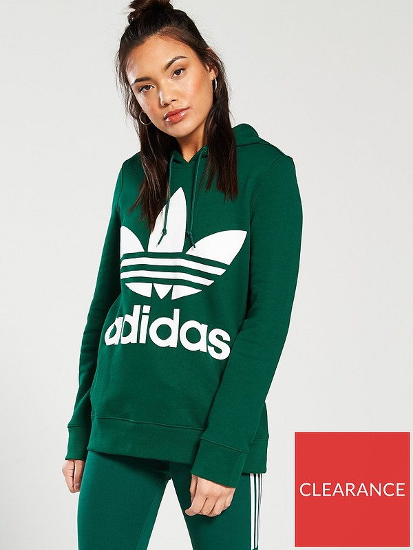 online for sale available large discount Trefoil Hoodie - Green
