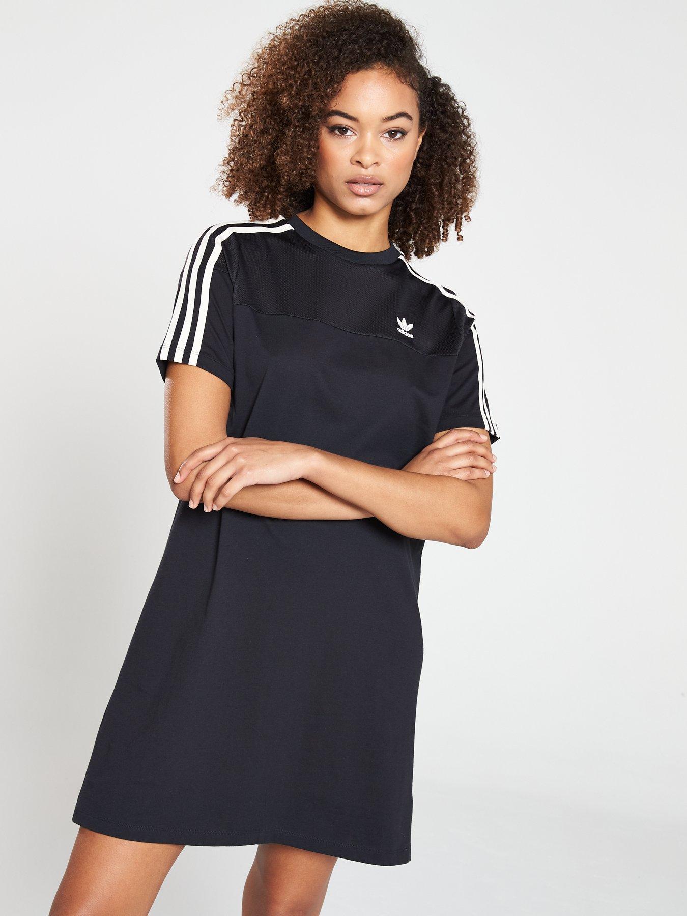 black dress adidas